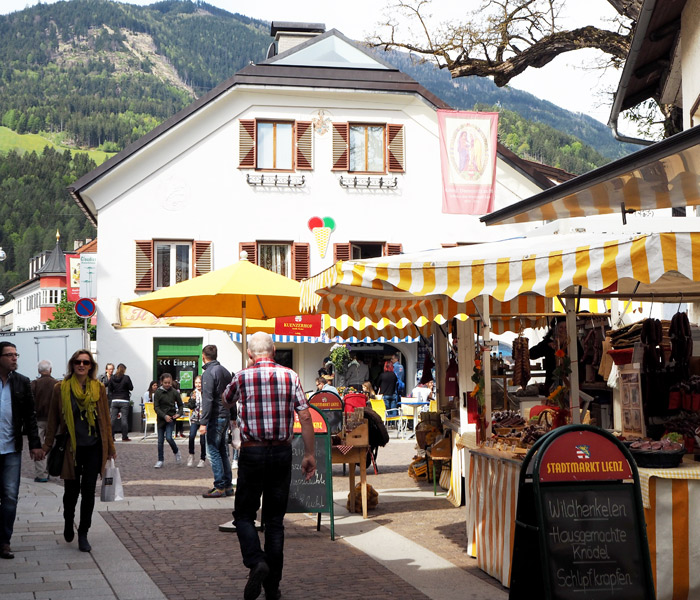 Markttag in Lienz