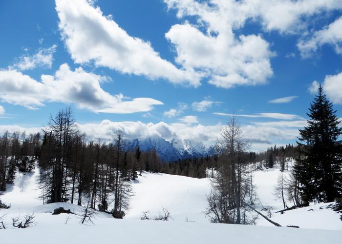 Langlauf und Winterwandern auf der Tauplitz