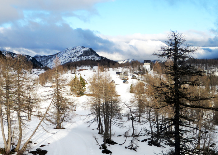 Tauplitzalm im Winter