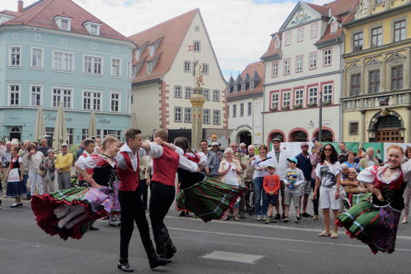 Tanzfest Danetzare in Erfurt