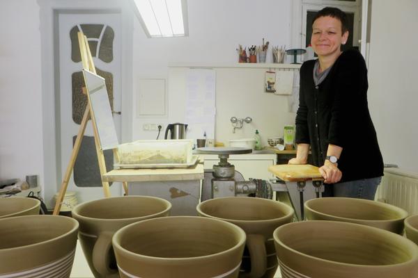 Keramikladen moccarot in Weimar