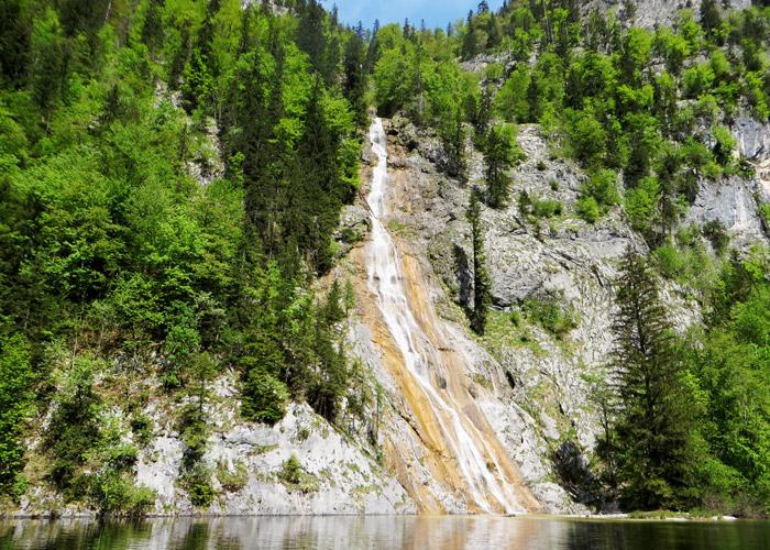 Wasserfall am Toplitzsee
