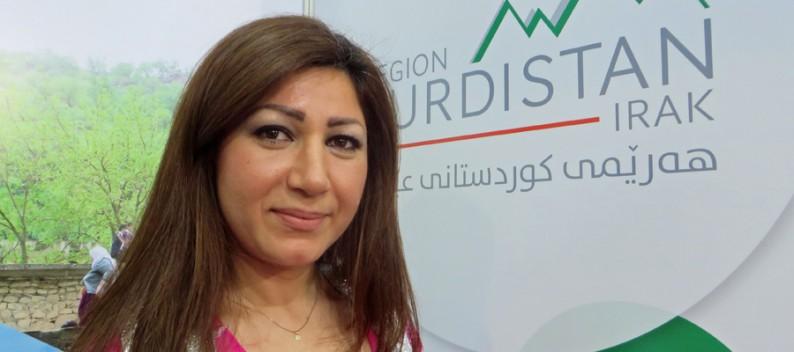 Die Region Kurdistan präsenteirt sich auf der Ferienmesse in Wien.