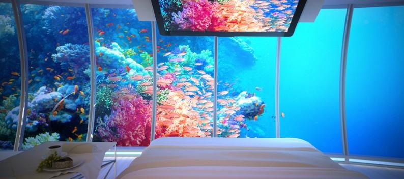 Angeblicher Reisetrend 2014: Unterwasserhotels.