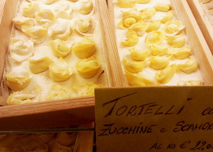 Tortellini in Verona, Italien