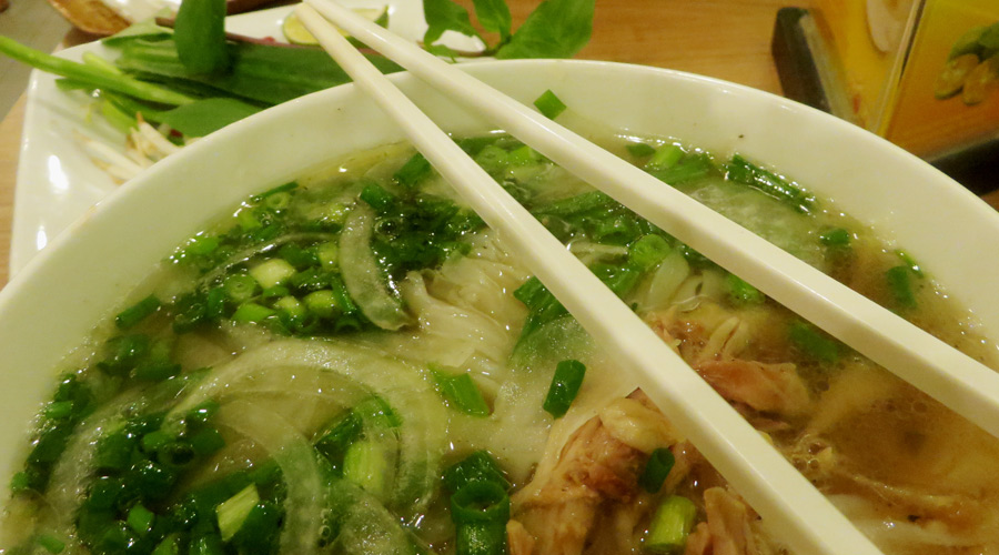 Pho - beliebte Suppe in Vietnam