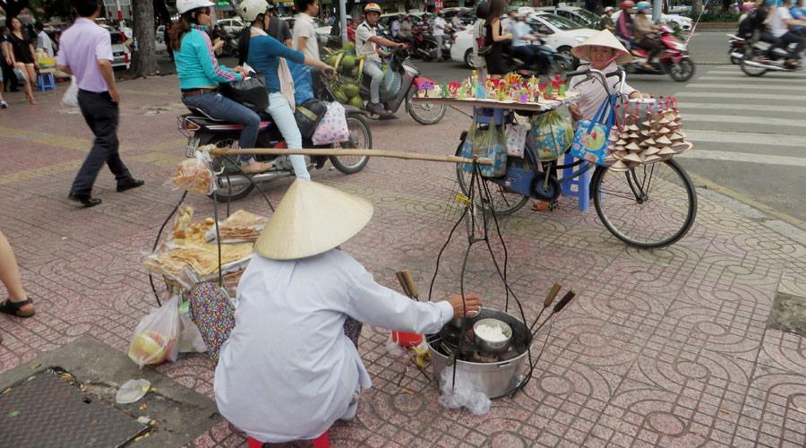 Vietnamesischer Straßenladen