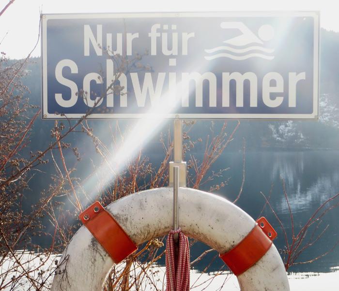 Millstätter See - nur für Schwimmer