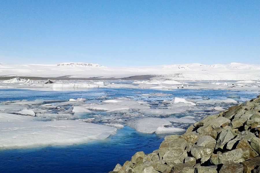 Urlaub in Island im Winter