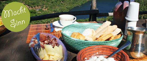 Agriturismo in Italien: leckeres Frühstück inklusive.