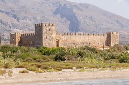 Festung Frangokastello auf Kreta, Griechenland