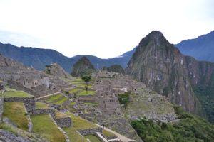 Das Ziel erreicht: Die Inka-Stadt Machu Picchu.