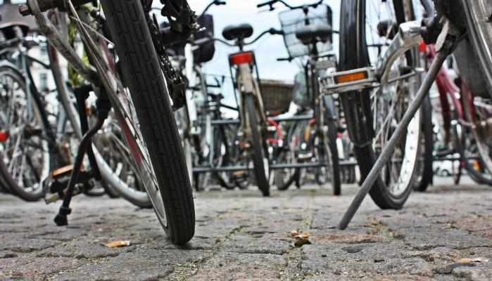 In Schweden finden sich überall Fahrradverleihe und Radwege.