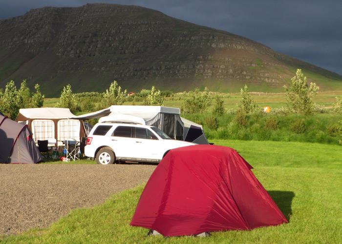 Zelt im Garten - Campspace