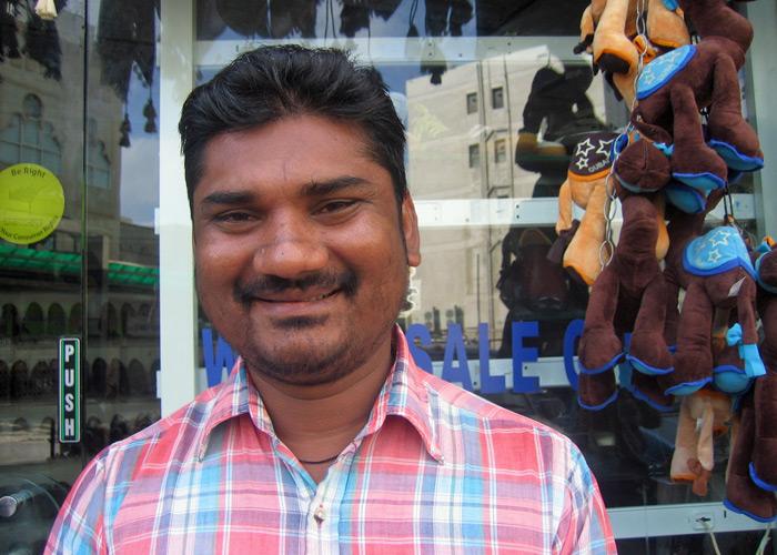 Pakistanischer Gastarbeiter in Dubai