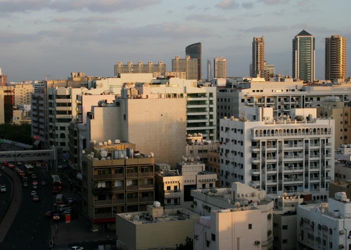 Gastarbeiterviertel in Dubai