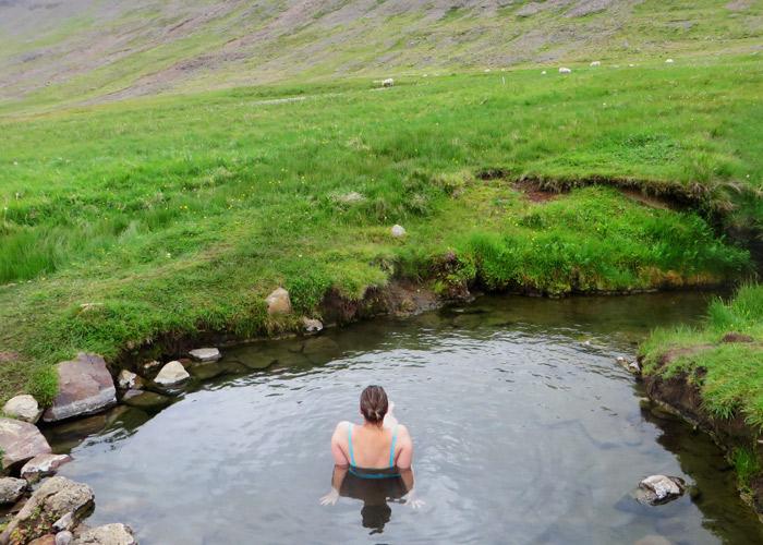 Heisse Quellen in Island