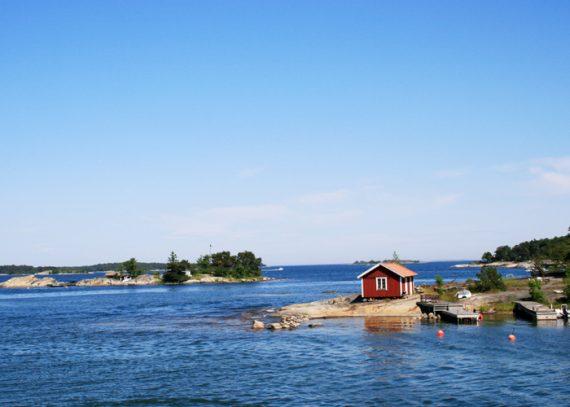 Inselhuepfen in Schweden