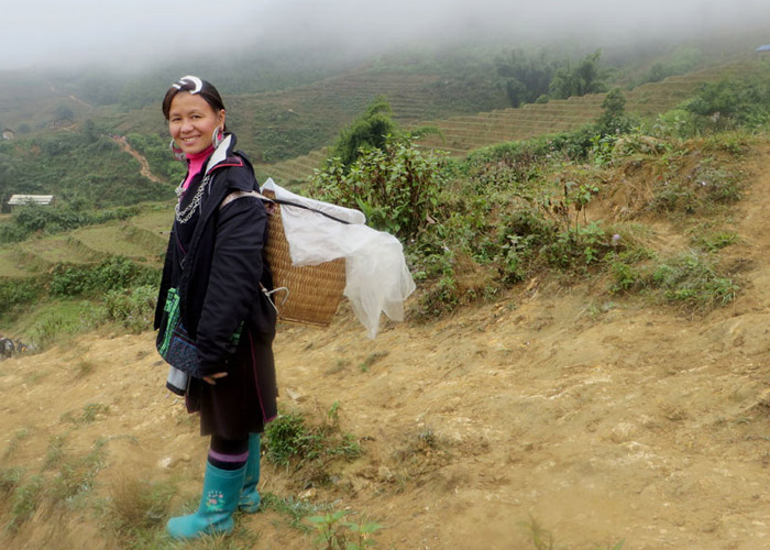 Einheimische in Sapa_Vietnam
