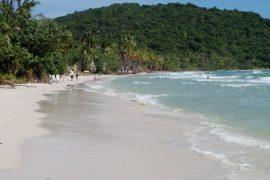Strand auf der Insel Phu Quoc