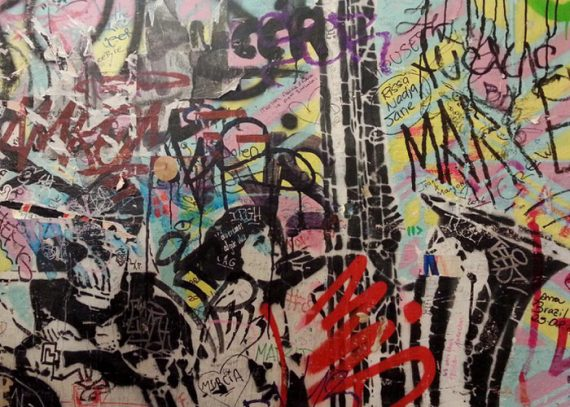 Graffiti im alternativen Berlin