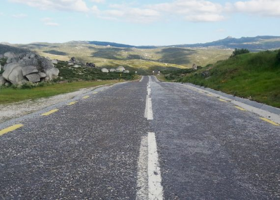 Roadtripp durch Portugal_Strasse