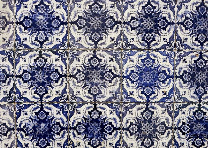 Portugals berühmte Fliesen, die Azulejos
