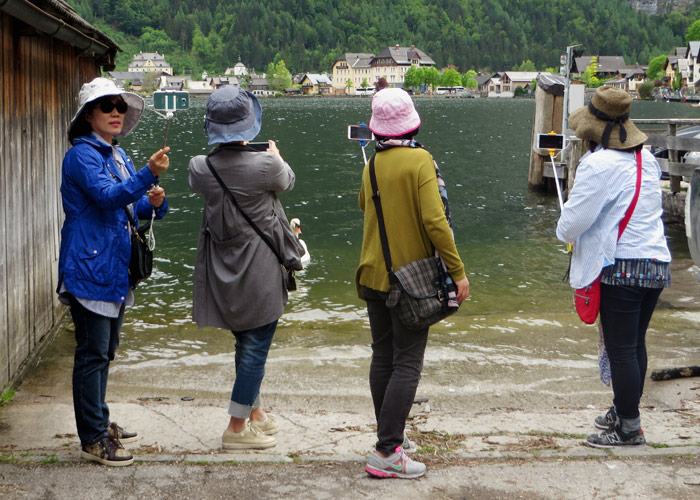 Asiaten in Hallstatt