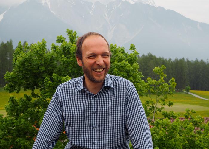 René Föger vom Familien-Landhotel Stern am Mieminger Plateau