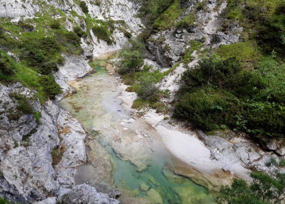 Flussbaden in Oesterreich