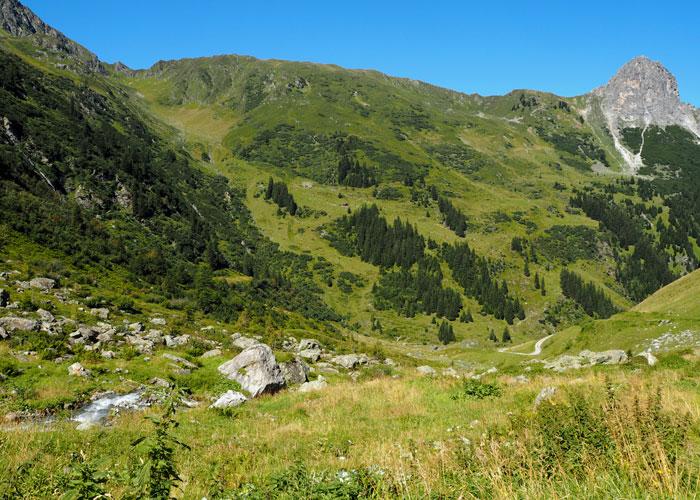Nachhaltiger Urlaub Alpen Bike and Hike im Montafon