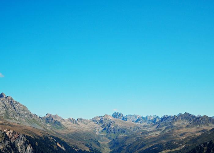 Gipfelpanorama im Montafon
