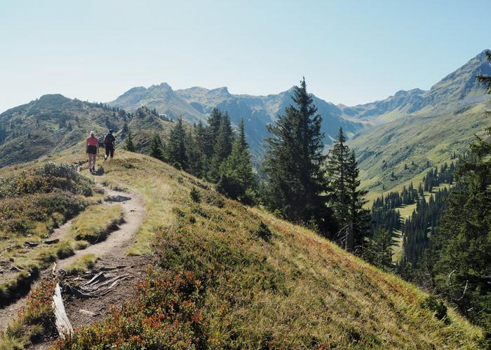 Nachhaltiger Urlaub Alpen Montafon Gantakopf
