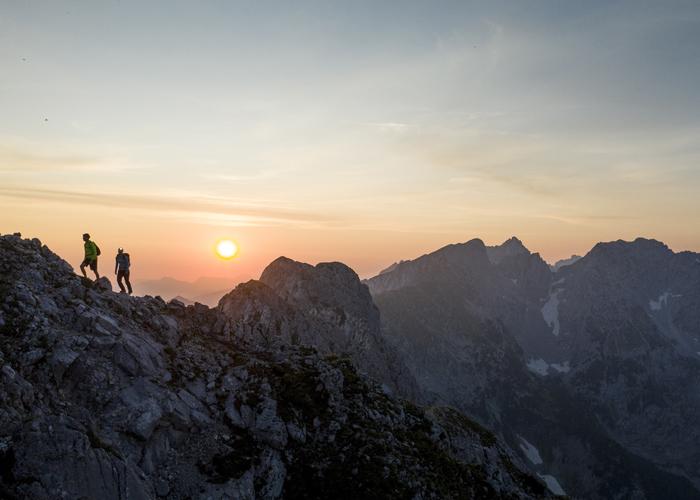 Wilder Kaiser Sonnenaufgangswanderung