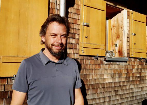 Hüttenwirt Stefan Schwaiger