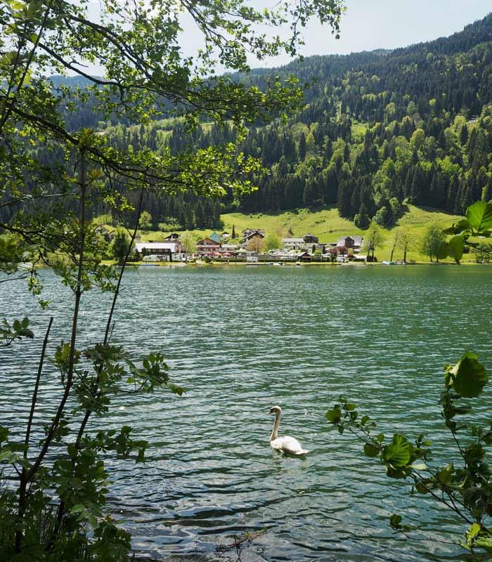Slow Trail Afritzer See in Kärnten