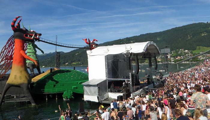 Bregenzer Festspielbühne am See