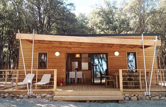 Luxus-Camping auf der Insel Korsika