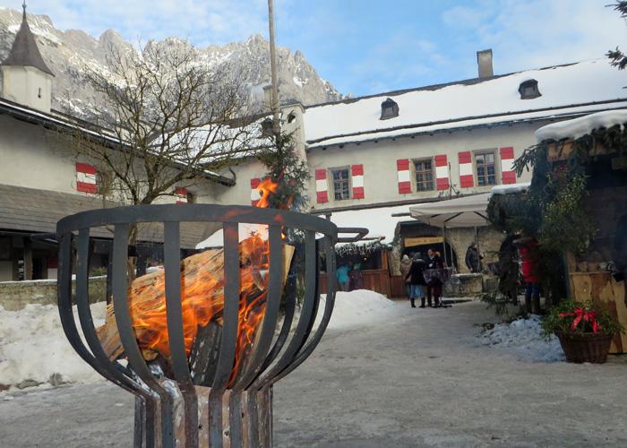 Weihnachtsmarkt Salzburg in Werfen