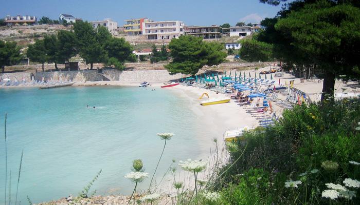 Strand in Albanien