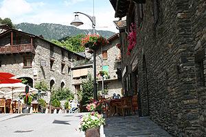 Canillo, ein Dorf in Andorra