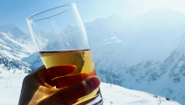 Almdudler am Arlberg