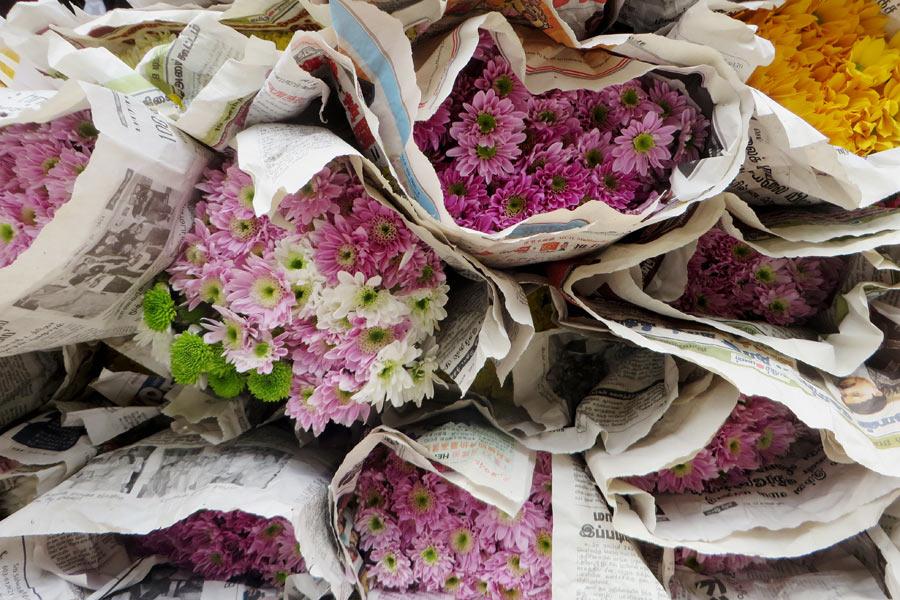 Blumensträuße in Malaysia