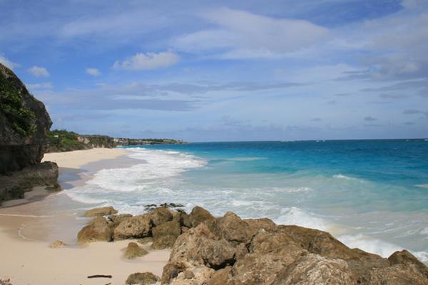 Crane Beach auf Barbados