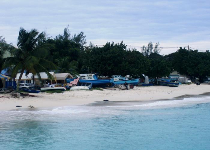 Sommerurlaub im Winter: Strand von Barbados