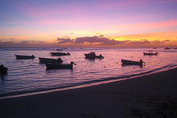 Sonnenuntergang St. Lawrence Gap, Barbados