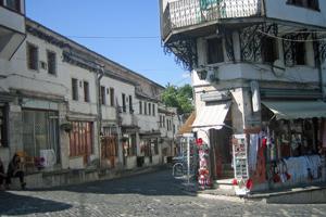 Bazaar in Albanien