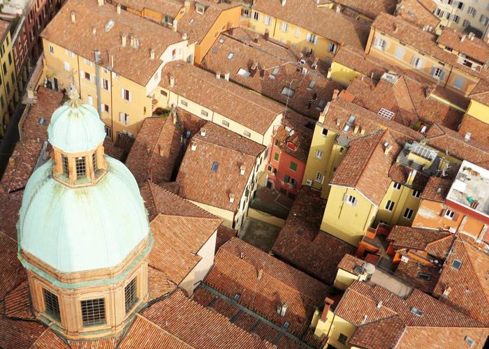 Bologna von oben