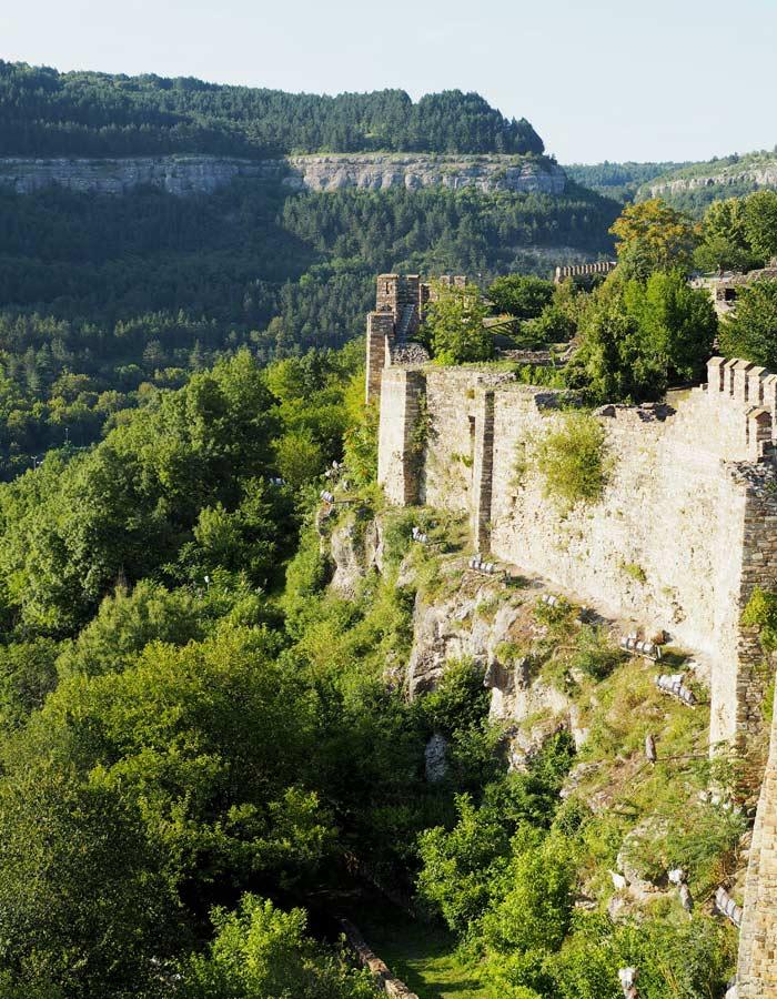 Sehenswuerdigkeiten in Bulgarien_Festung in Veliko Tarnovo
