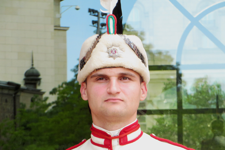 Guard in Sofia, Bulgarien